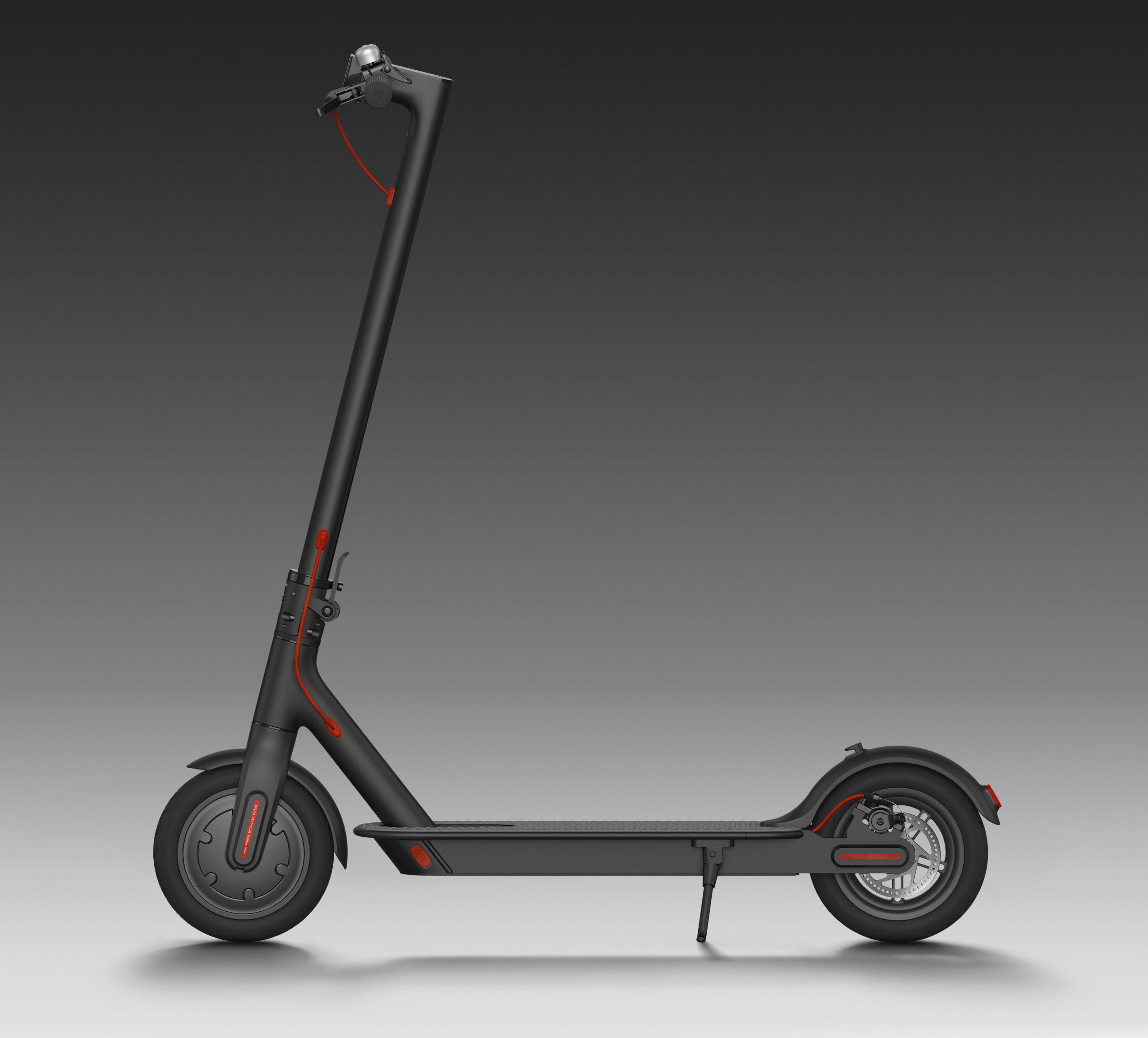 Xiaomi Mi Scooter 2 - Elektro koloběžka Barva: ČERNÁ