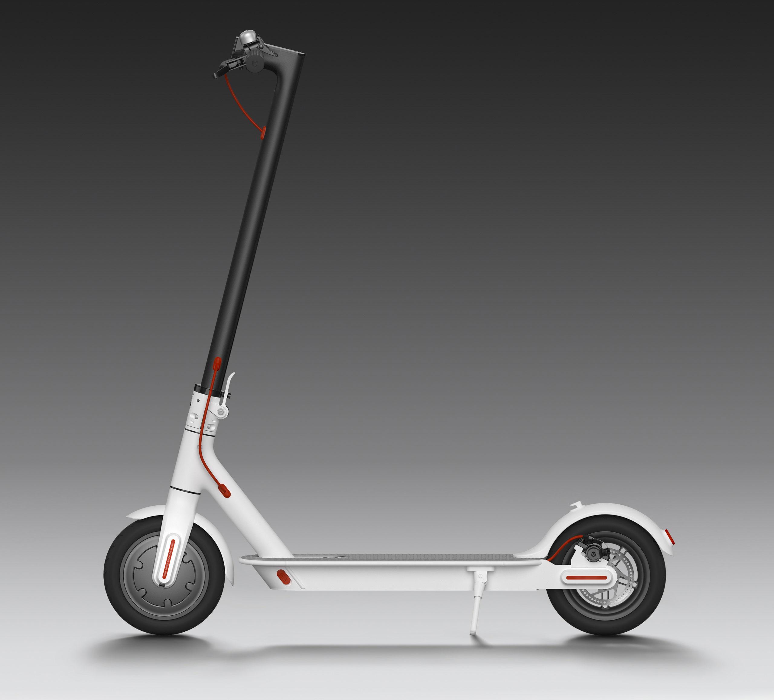 Xiaomi Mi Scooter 2 - Elektro koloběžka Barva: Bílá