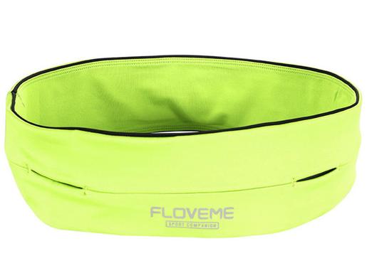 Sportovní opasek Floveme Barva: Zelená, Velikost: M