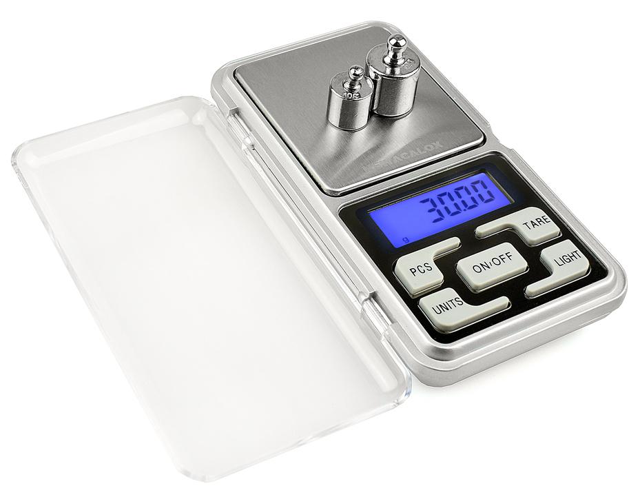 PRO Mini kapesní váha s LCD displejem 0,01 - 200 g