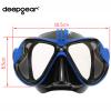 Potápěčské brýle s držákem pro GoPro a sportovní kamery potápění