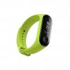 Xiaomi Mi Band Strap 3 náhradní náramek zelená green zelený