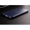 Kožený obal ipaky modrý pro iPhone 6/6S Plus