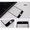Zaoblená ochranná skleněná 3D folie pro iPhone 6/6S Plus černá