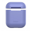 Purple AirPods Case obal sluchatka