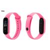 Xiaomi Mi Band 5 Náhradní náramek pink růžová