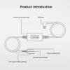 kabel pryamogo podklyucheniya dlya videoregistratora xiaomi 70mai hardware kit up02 4