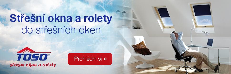 Střešní okna Toso dřevěná a plastová. Doprava zdarma do tří dnů po celé ČR. Záruka 10 let na střešní okna a lemování TOSO.