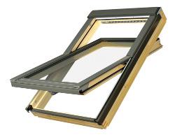 Dřevěné střešní okno FAKRO FTP-V U3 rozměr: 55x78 cm