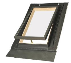 Střešní výlez FAKRO WGT jedno sklo rozměr: 46x55 cm