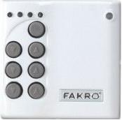 Nástěnný ovladač FAKRO ZWK10
