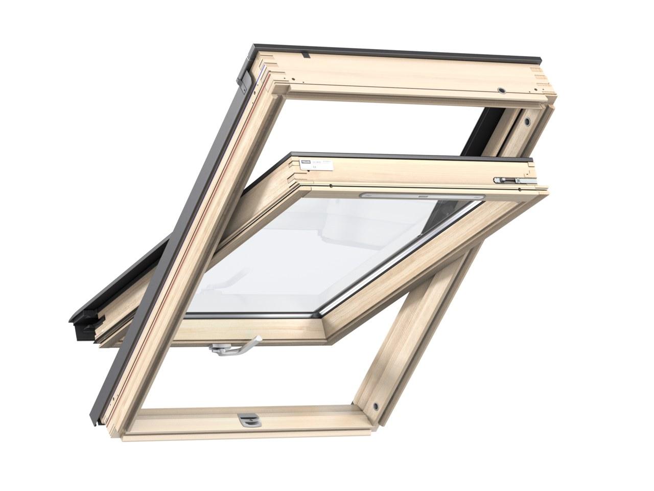 Střešní okno VELUX GZL 1051B rozměr: FK06 66X118 cm
