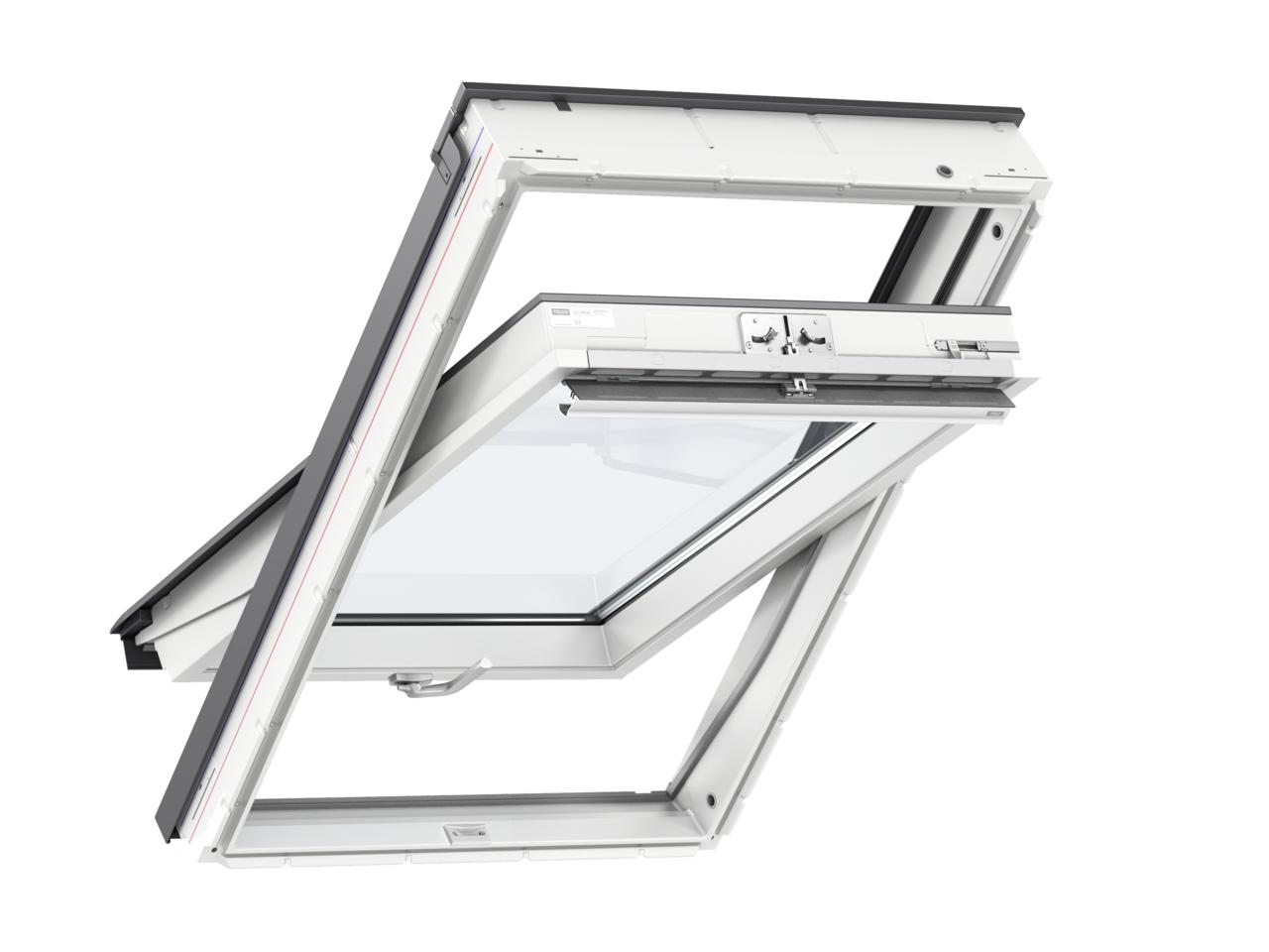 Střešní okno VELUX GLU S10002 - ekonomické trojsklo rozměr: MK06 78x118 cm