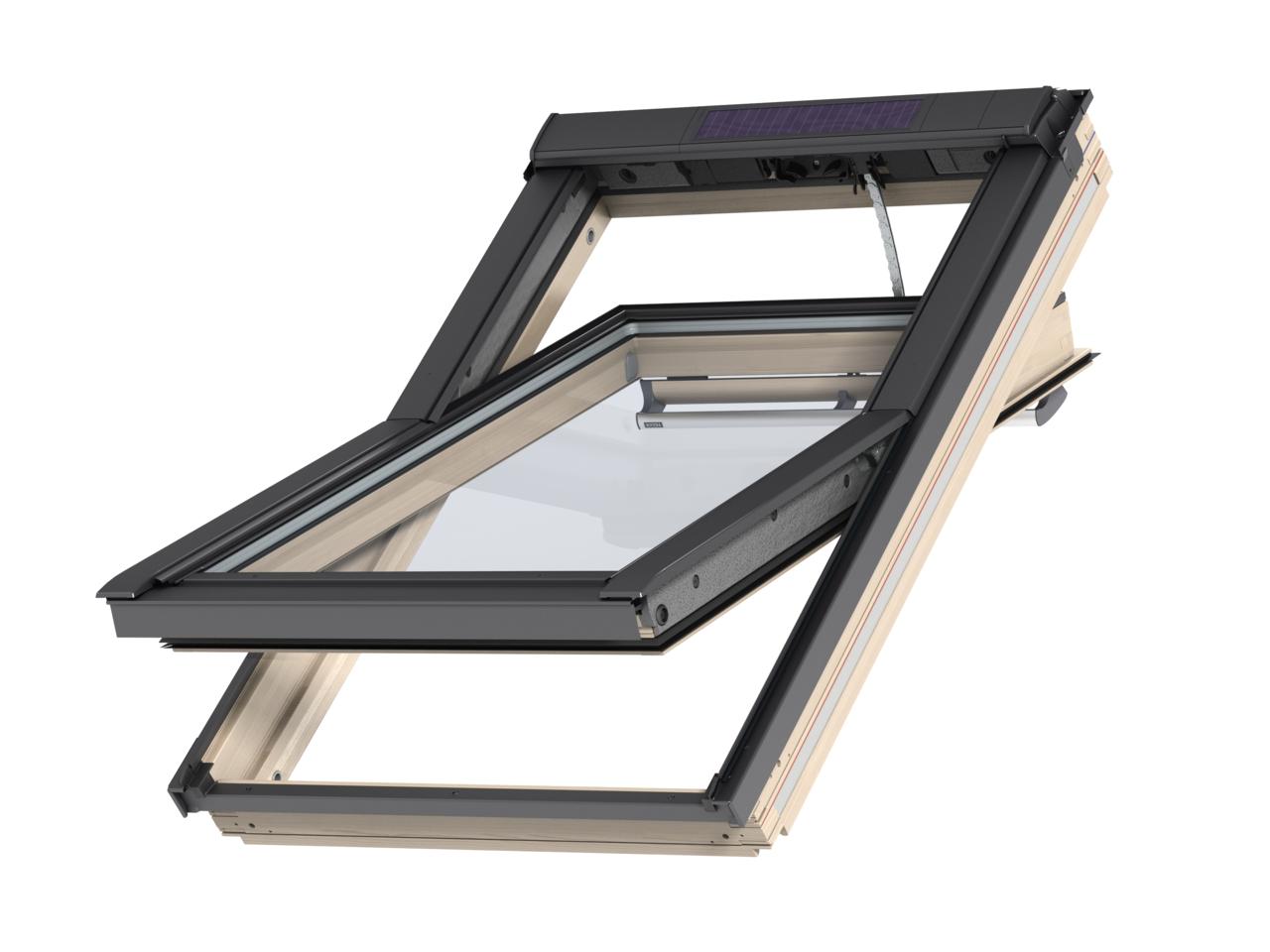 VELUX Elektricky ovládané okno GGL 306830 Solar rozměr: CK02 55x78 cm