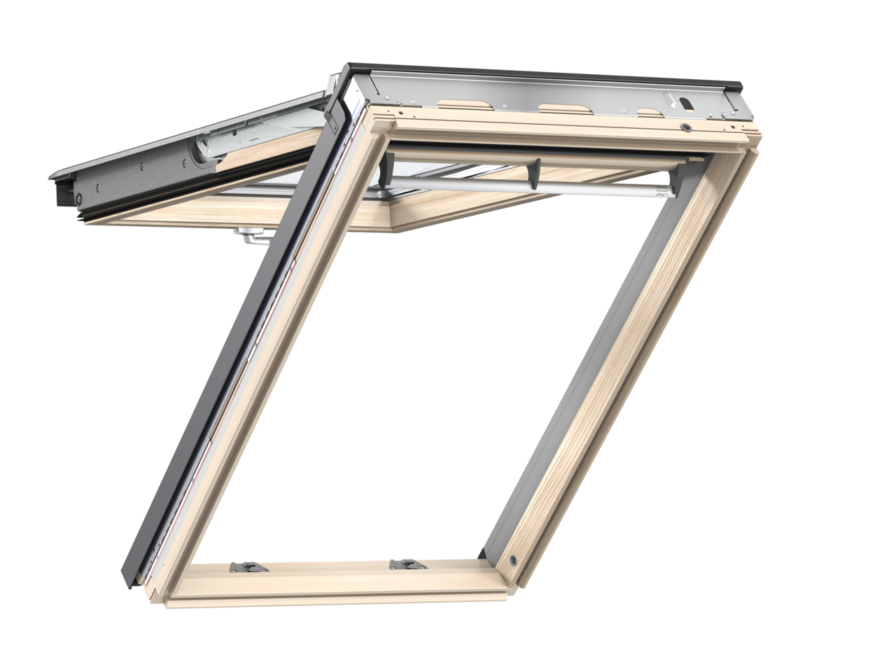 Výklopně-kyvné okno VELUX GPL 3068 rozměr: MK06 78x118 cm