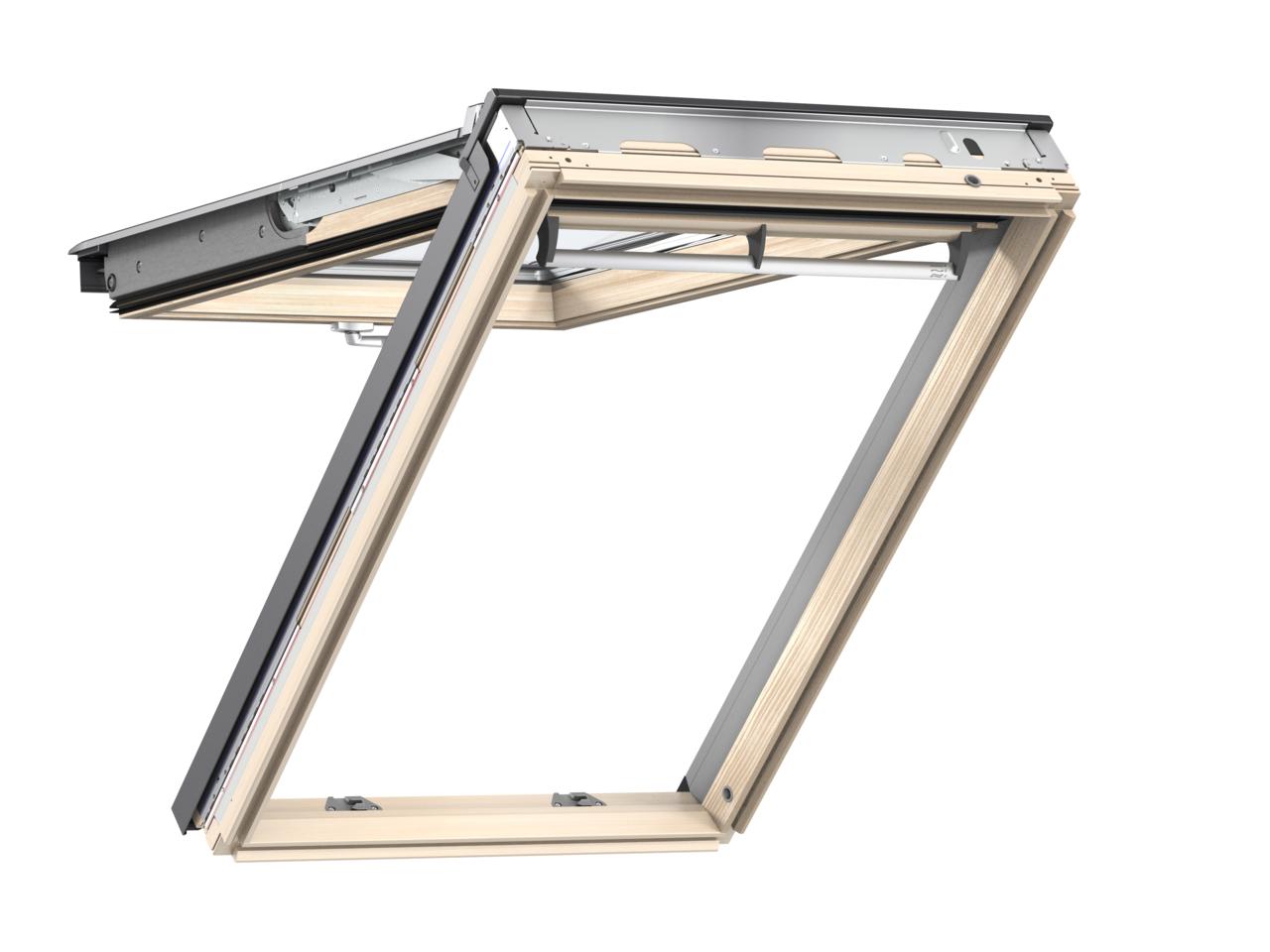 Výklopně-kyvné okno VELUX GPL 3066 rozměr: PK08 94x140 cm