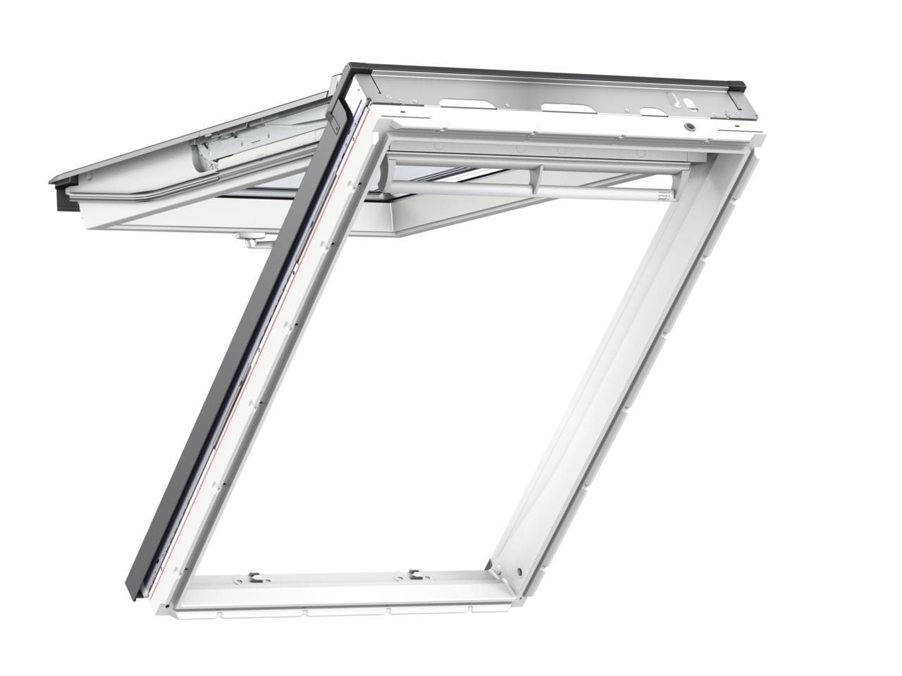 Výklopně-kyvné okno VELUX GPU 0062 rozměr: CK04 55x98 cm