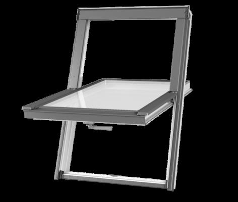 Plastové střešní okno DAKEA Better PVC KPV B1000 Rozměr: 55x78 cm
