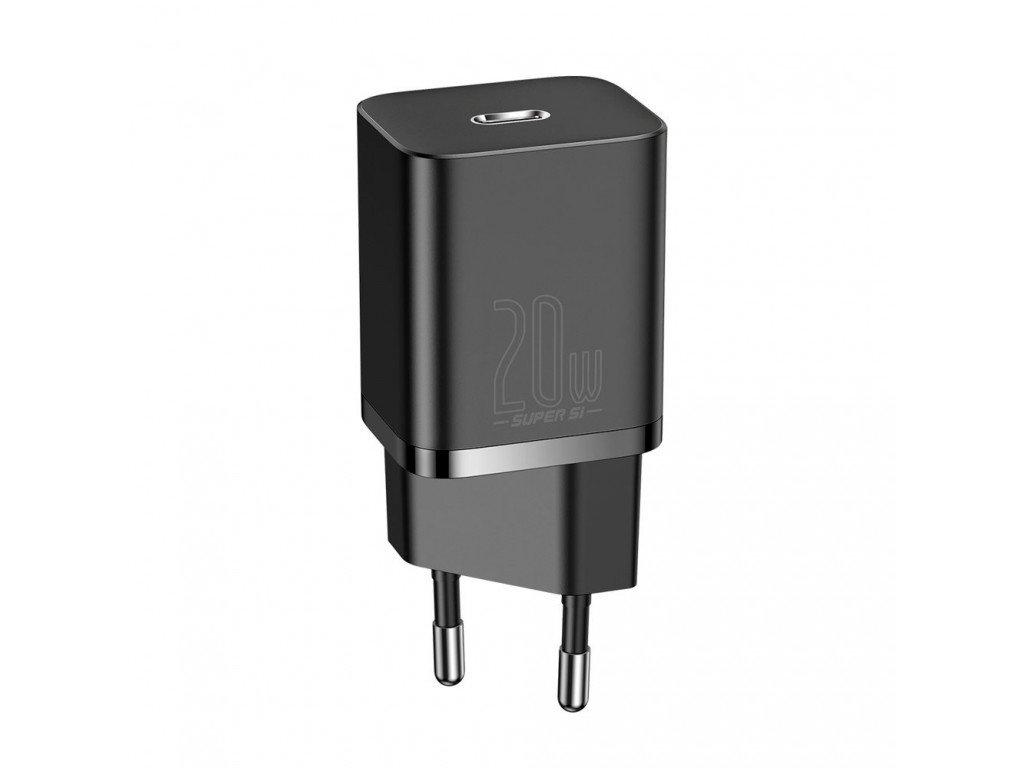 setevoe zaryadnoe ustroystvo baseus super si quick charger 1c 20w ccsup b01 black ccsup b01 30696 1024x768