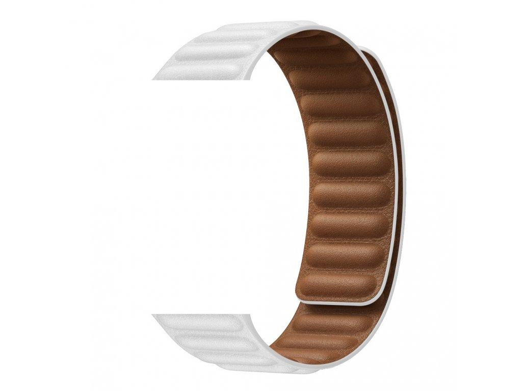 Řemínek kožený tah pro Apple Watch 38/40mm