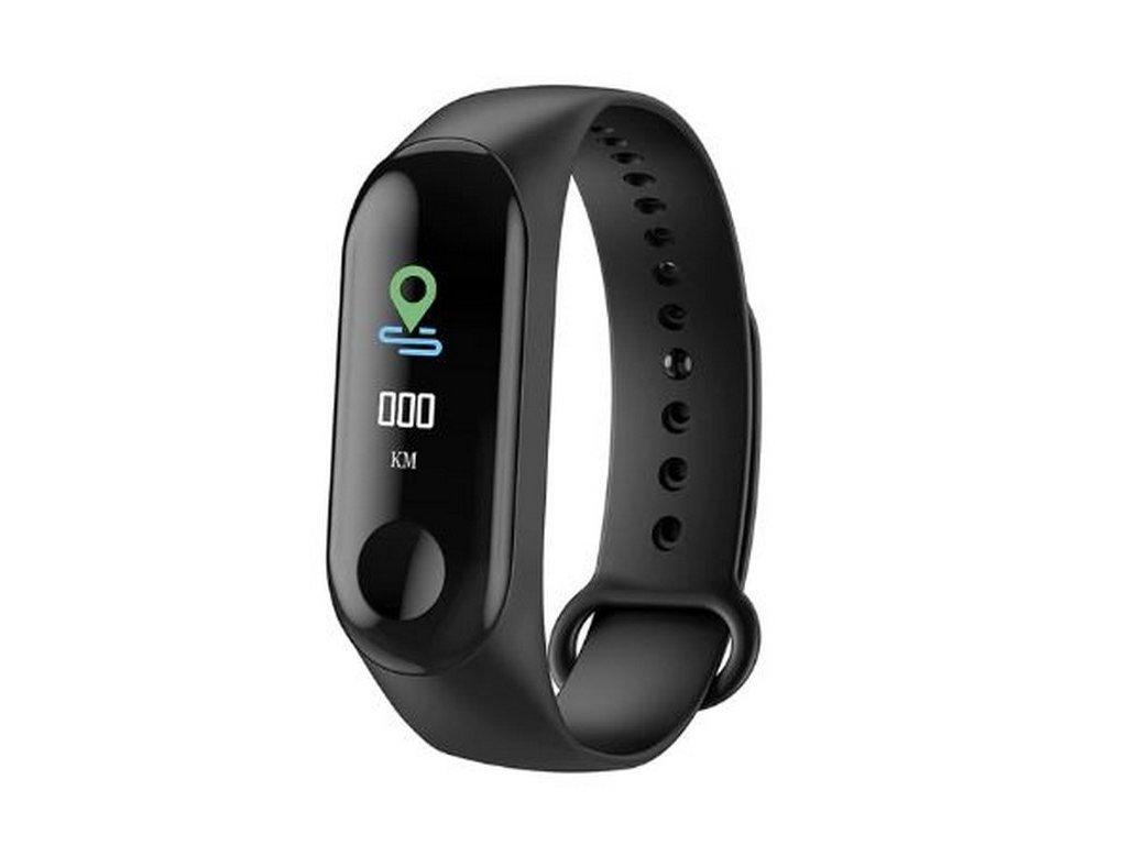 12440 fitness naramek m3 smart band s barevnym oled displejem smw00020
