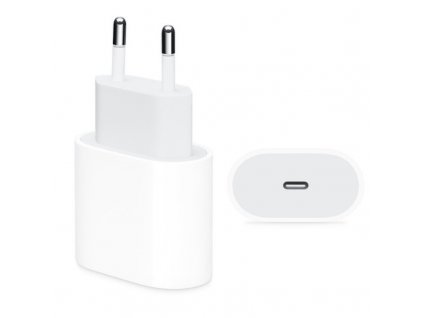 appleking 2v1 rychlonabijeci sada pro iphone 18w usb c adapter a usb c lightning kabel