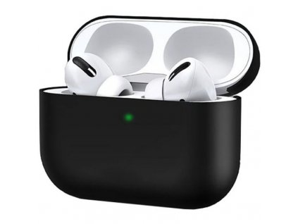usams silicone case for apple airpods pro with holder black d89