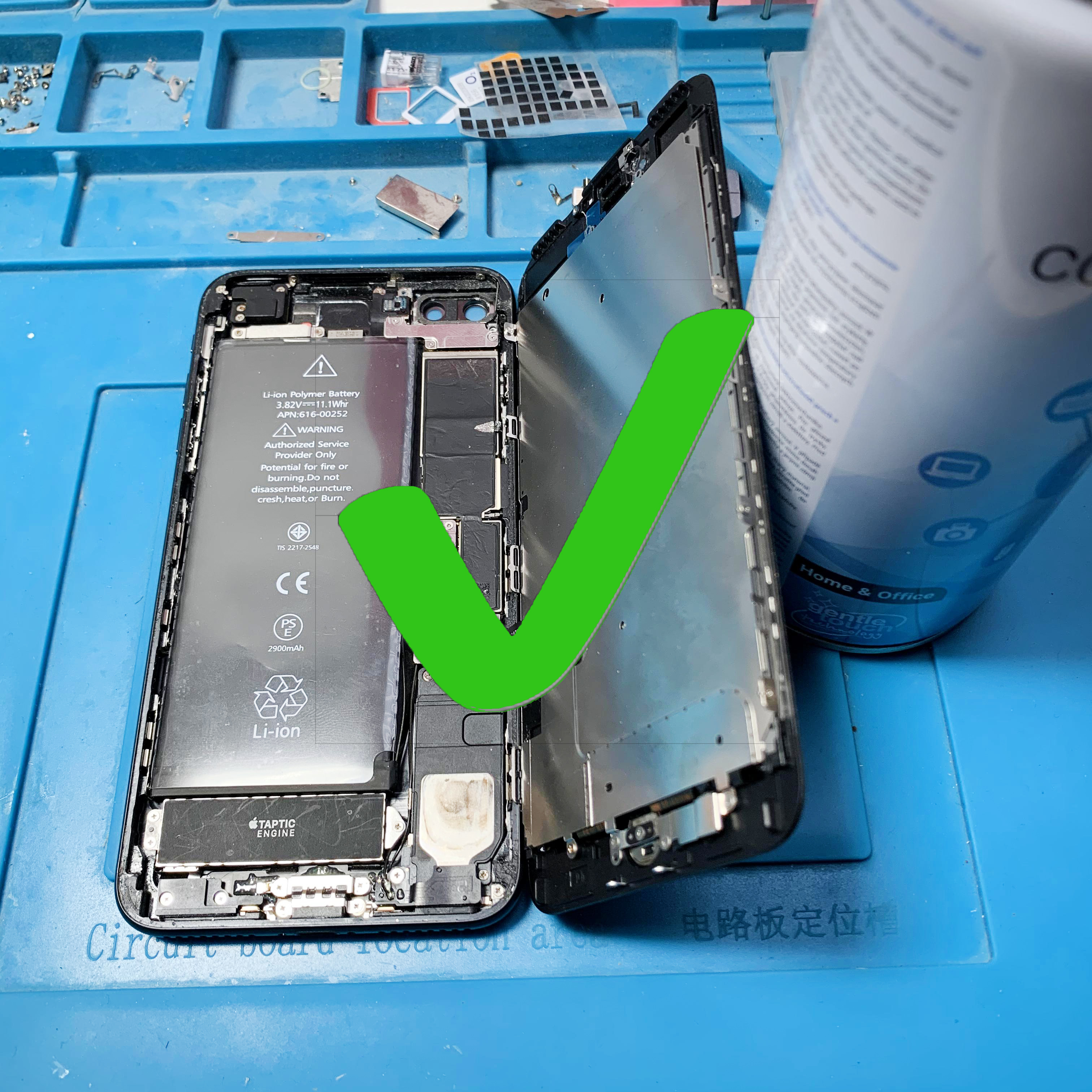 Nefunkční Touch ID po opravě iPhone 7 / iPhone 7 Plus