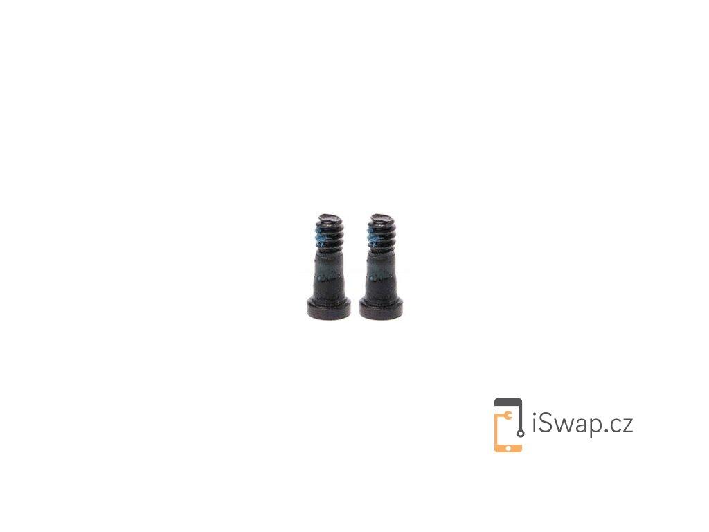Spodní šroubky černé pro Apple iPhone 7 a 7+