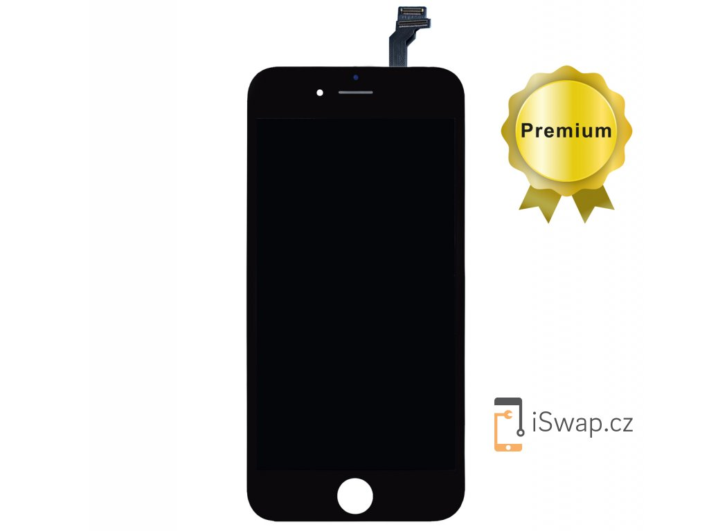 Náhradní LCD displej PREMIUM pro Apple iPhone 6 Plus černý