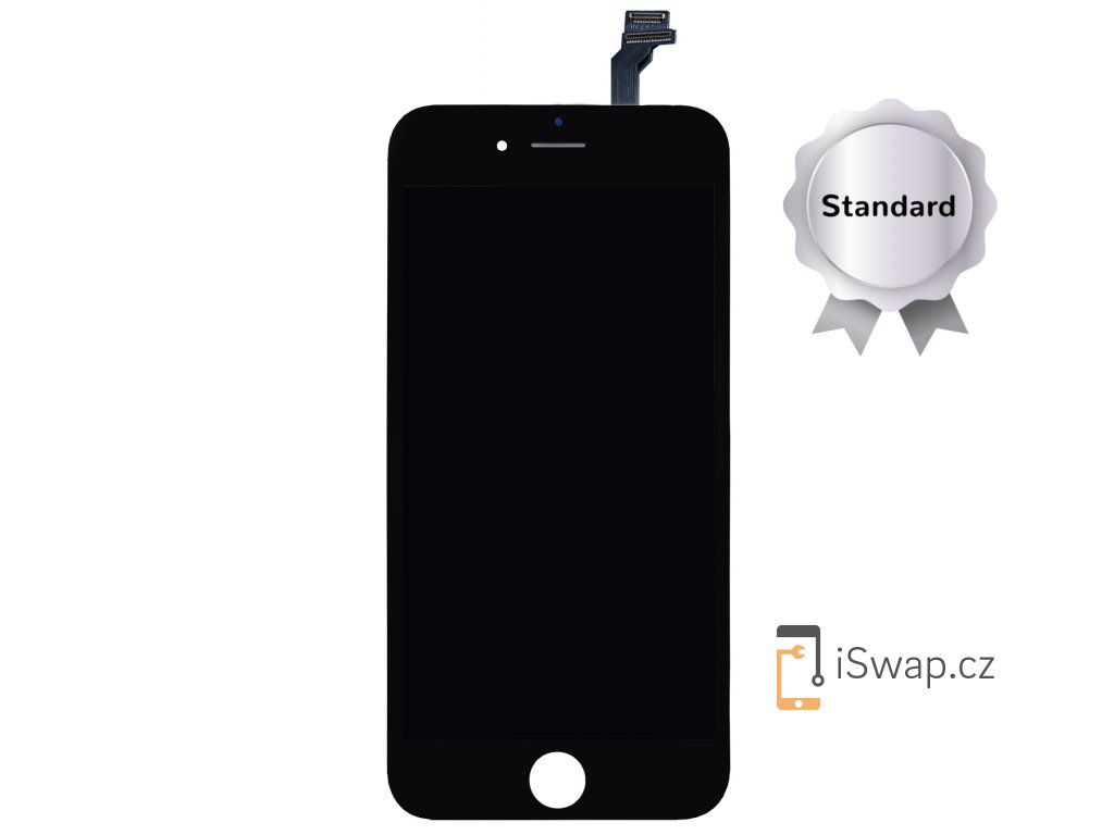 LCD displej STANDARD černý pro Apple iPhone 6 Plus