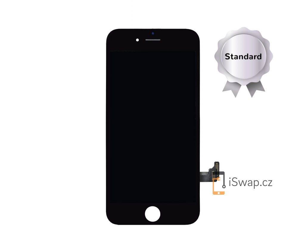 LCD displej STANDARD černý pro Apple iPhone 7 Plus