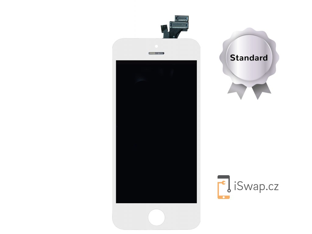 Náhradní display pro Apple iPhone 5 STANDARD bílý
