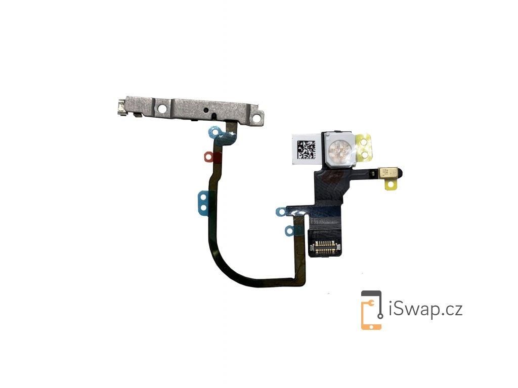 Flex kabel s On/off tlačítkem a bleskem pro Apple iPhone Xs, Xs Max