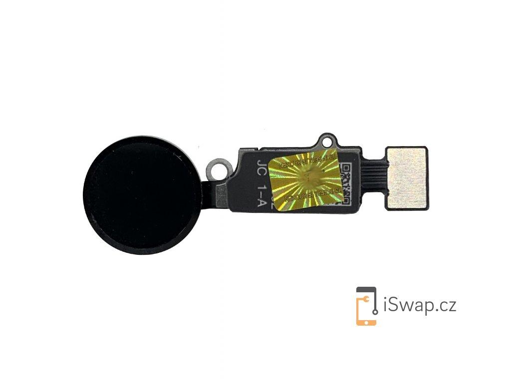 JC home button pro iPhone  7 a vyšší, černý.