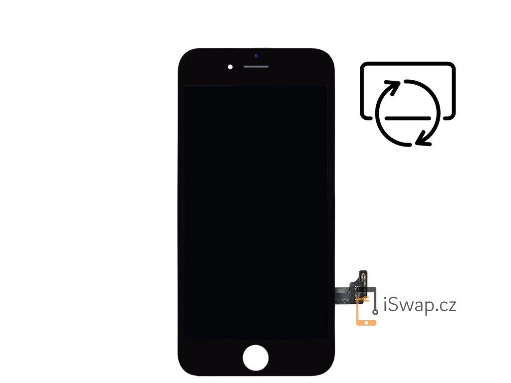 Originální repasovaný černý displej pro Apple iPhone 7