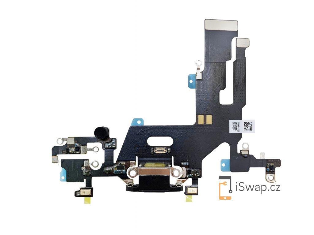 Nabíjecí konektor pro Apple iPhone 11 černý