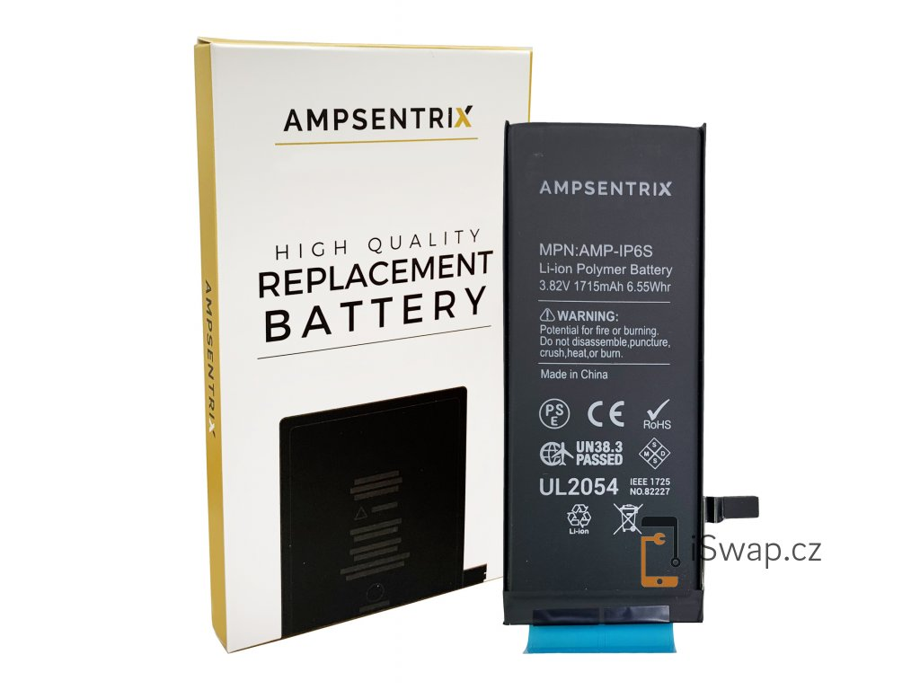 Ampsentrix baterie pro iPhone 6S.