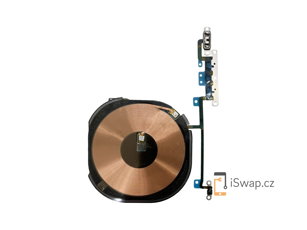 NFC cívka s tlačítky hlasitosti pro Apple iPhone Xs Max.