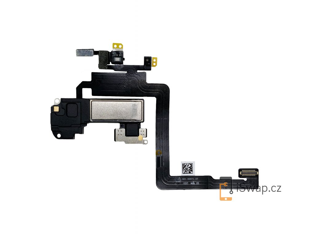 Přední flex kabel s sluchátkem a senzory pro Apple iPhone 11 Pro.