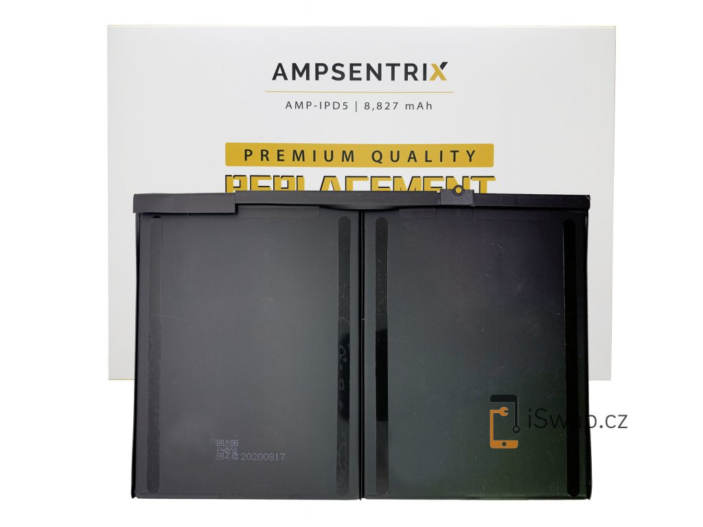 Náhradní baterie Ampsentrix pro Apple iPad Air, iPad 5 a iPad 6.