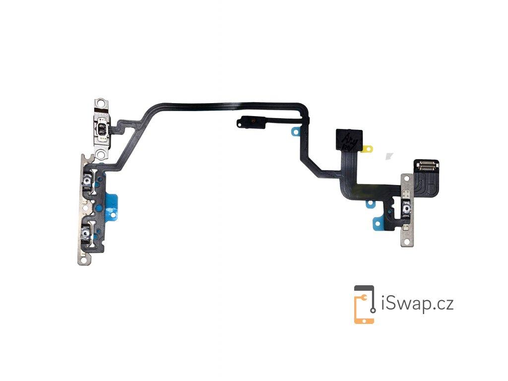 Náhradní flex kabel s tlačítky pro Apple iPhone Xr.