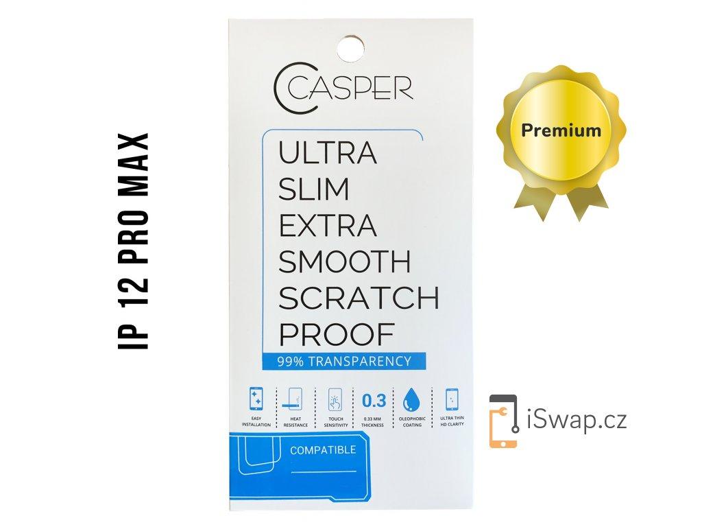 Tvrzené sklo Casper pro Apple iPhone 12 Pro Max