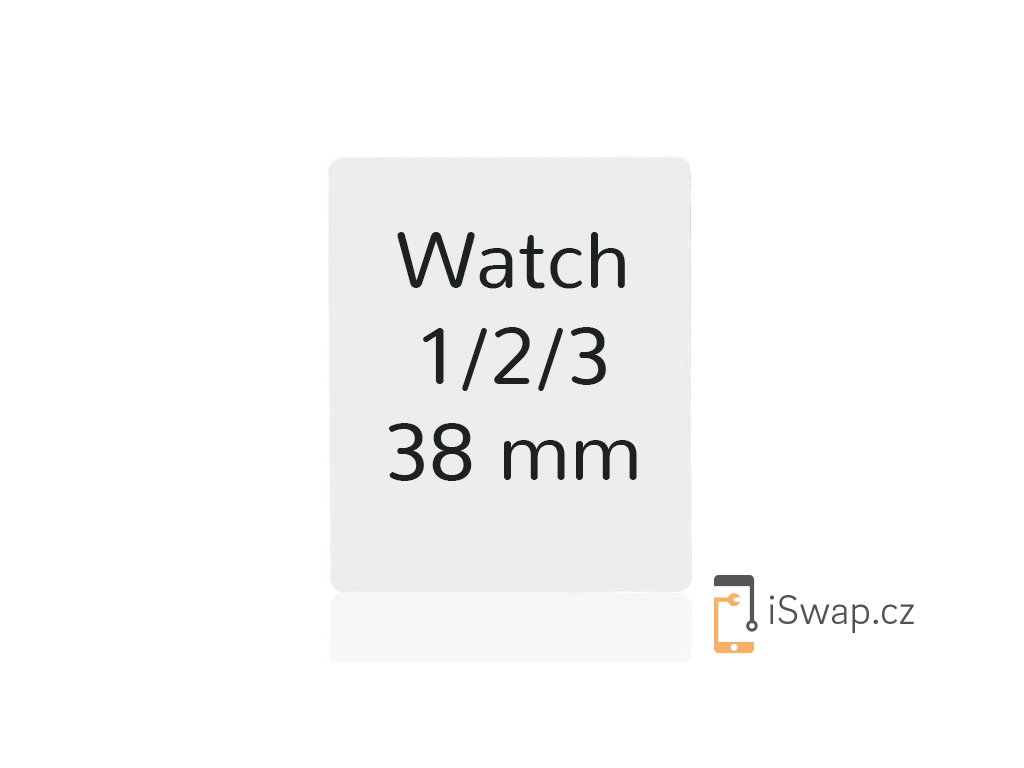 OCA lepidlo pro Apple Watch 1,2,3 38mm.