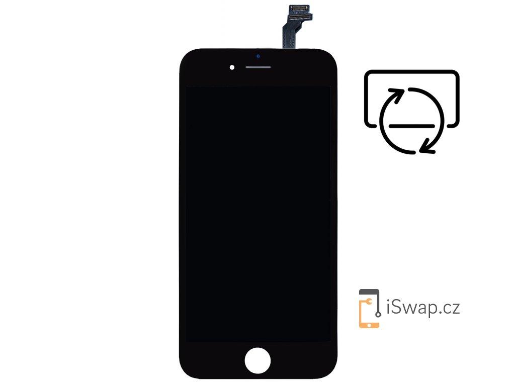 Originální repasovaný displej pro Apple iPhone 6 černý.