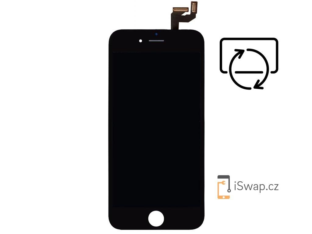 Originální repasovaný displej pro Apple iPhone 6S Plus černý.