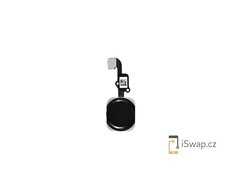 Náhradní domácí tlačítko pro Apple iPhone 6 a 6+ černý