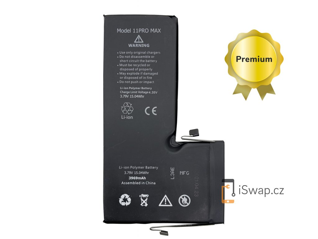 Baterie 3969mAh PREMIUM pro iPhone 11 Pro Max