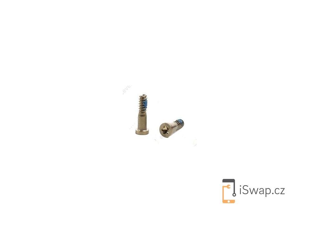 Spodní šroubky zlaté pro Apple iPhone 6/6+