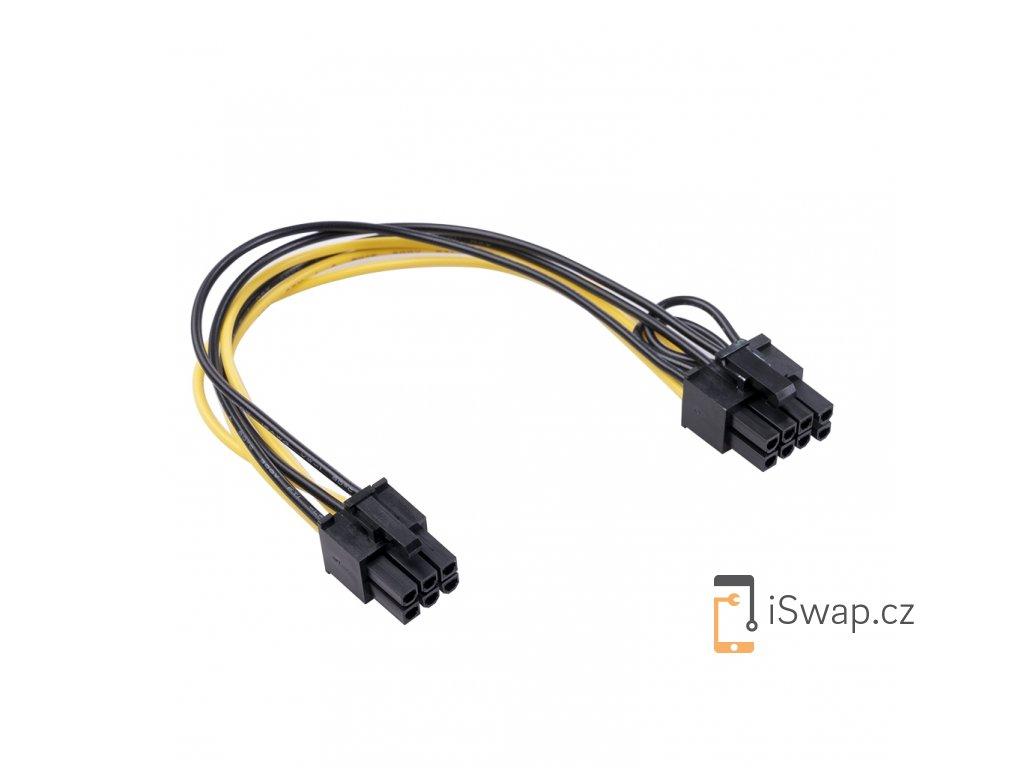 Napájecí kabel k Breakout Boardu 6-PIN na (6+2)-PIN PCIe